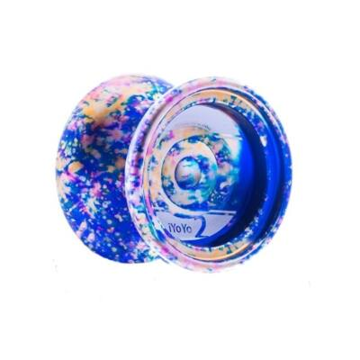 iYoYo 2 Color Explosion kék/acidwash yo-yo