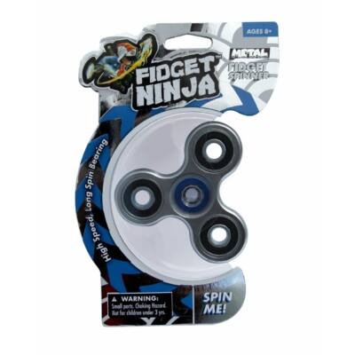 Fidget Spinner, metál - ezüst