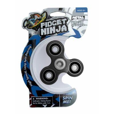 Fidget Spinner, metál - fekete