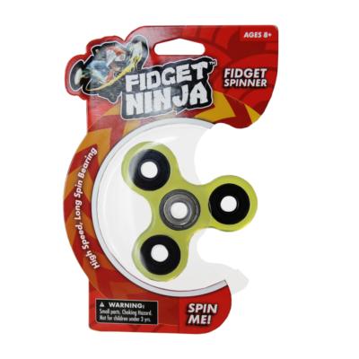 Fidget Spinner - Tri Spinner, füst
