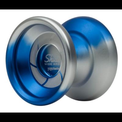 YoYoFactory Shutter Wide Angle yo-yo, kék-ezüst