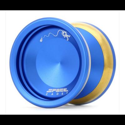 YoYoFactory Space Cadet yo-yo, kék-arany