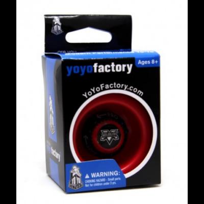 YoYoFactory Velocity 2.0 yo-yo, piros (kis dobozos)