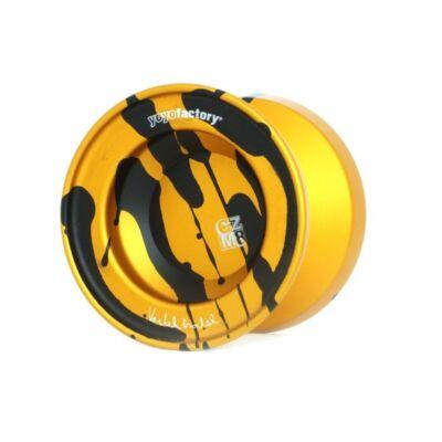 YoYoFactory CZM8 splash yo-yo narancs-fekete splash