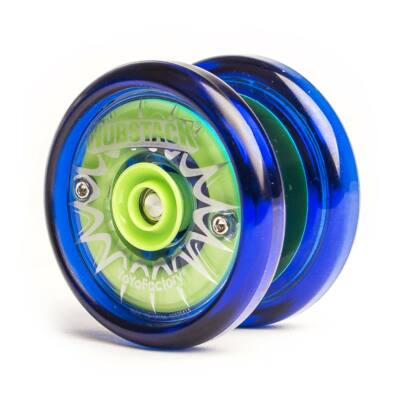 YoYoFactory Hubstack yo-yo kék-zöld