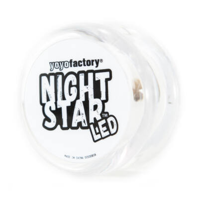 YoYoFactory Nightstar yo-yo áttetsz?/fehér