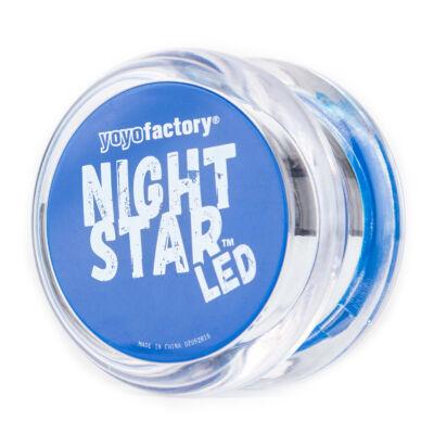 YoYoFactory Nightstar yo-yo áttetsz?/kék