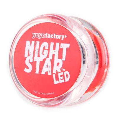 YoYoFactory Nightstar yo-yo áttetsz?/piros