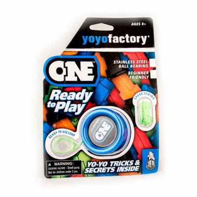 YoYoFactory One blister yo-yo kék