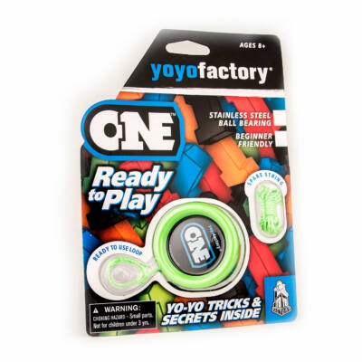 YoYoFactory One blister yo-yo zöld