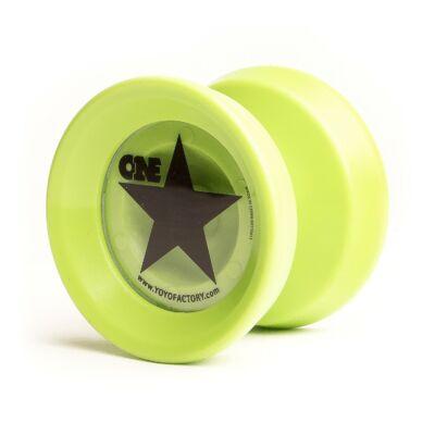 YoYoFactory Onestar yo-yo zöld