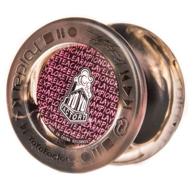 YoYoFactory Replay Pro yo-yo pink/fekete