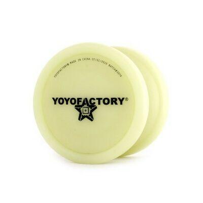 YoYoFactory Die Nasty yo-yo foszforeszkáló