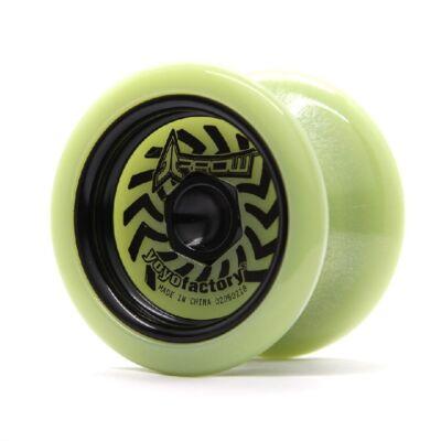YoYoFactory Arrow Glow yo-yo, fekete