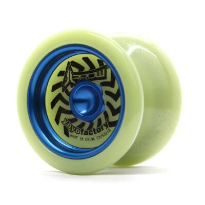 YoYoFactory Arrow Glow yo-yo, kék