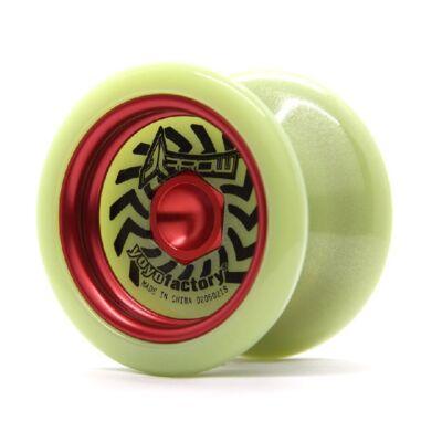 YoYoFactory Arrow Glow yo-yo, piros