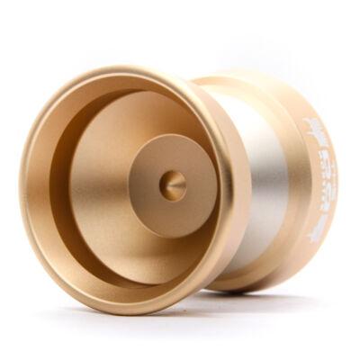 YoYoFactory Edge Monster yo-yo, arany-ezüst