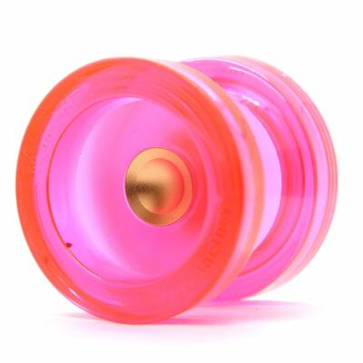 YoYoFactory Wedge yo-yo pink-arany