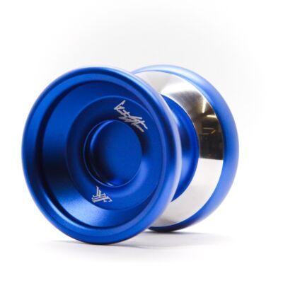 YoYoFactory Shutter WA Bimetal Style yo-yo, kék