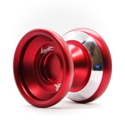 YoYoFactory Shutter WA Bimetal Style yo-yo, piros