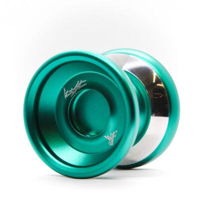 YoYoFactory Shutter WA Bimetal Style yo-yo, zöld