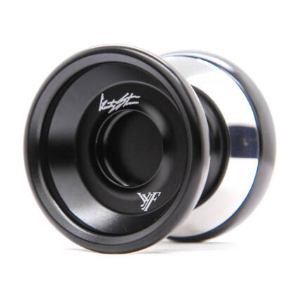 YoYoFactory Shutter WA Bimetal Style yo-yo, fekete